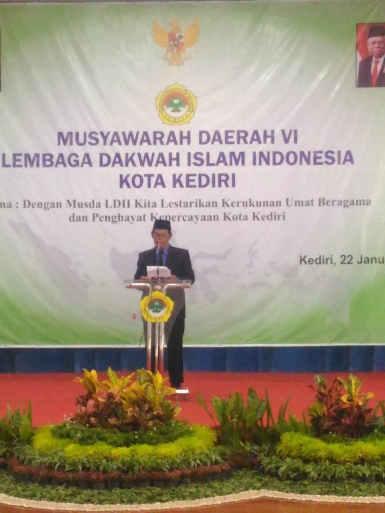 Kesuksesan dan Pengabdian H. Usman Arif Memotivasi Dakwah LDII Kota Kediri