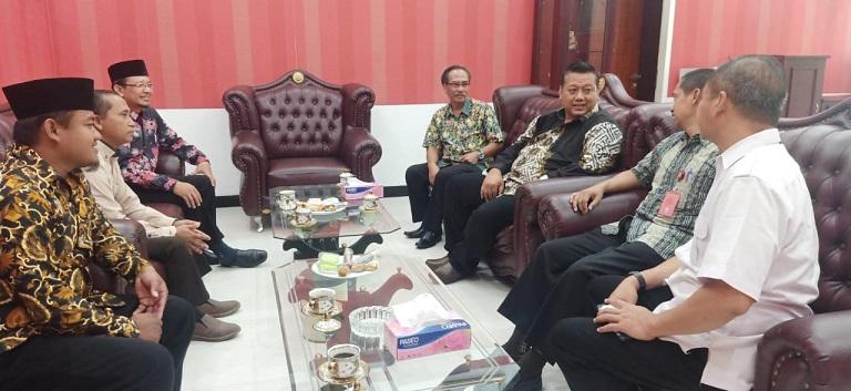 Ketua DPRD Kabupaten Kediri: Semoga Tali Silaturahmi Ini Terjaga Dengan Baik