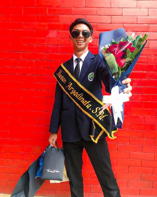 Hasan Argadinata : Sibuk Ngaji Tapi Jadi Mahasiswa Terbaik UM