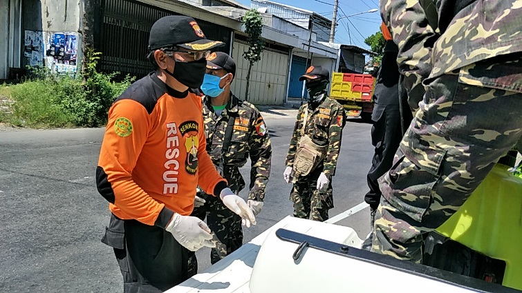 HIMDA LDII, GP Anshor, Pemuda Muhammadiyah Bersama-sama Lawan COVID-19