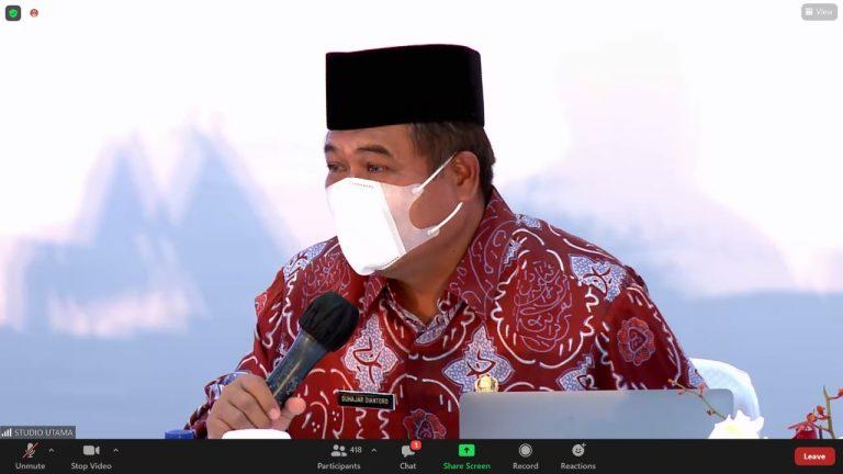 Staf Ahli Mendagri Bidang Pemerintahan: Demokrasi Konstitusional adalah Pertemuan Kedaulatan Rakyat dan Kedaulatan Hukum