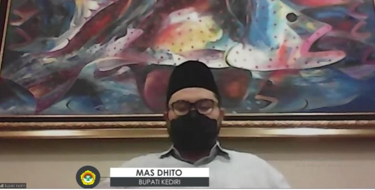 Mas Dhito, Covid-19 di Kabupaten Kediri Terus Melonjak Tajam