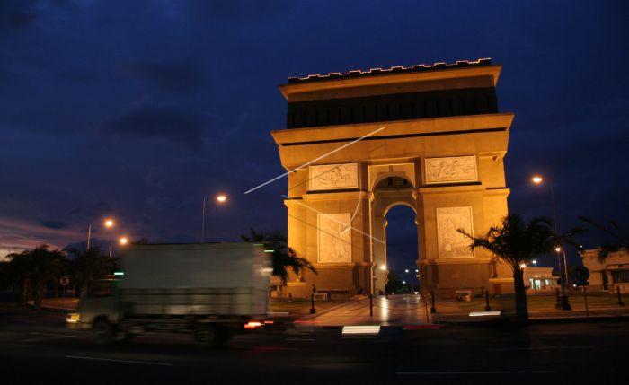 Monumen SLG Landmark Kebanggaan Masyarakat Kediri
